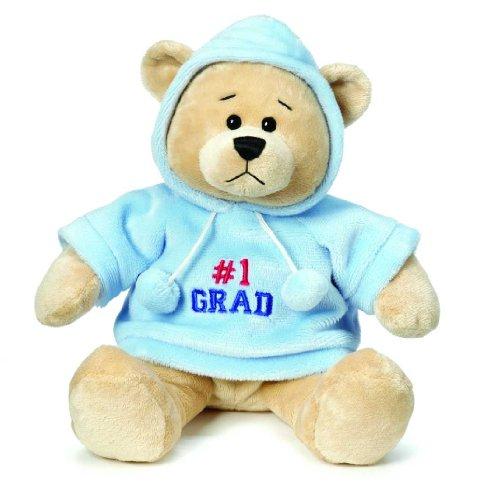 Ganz Graduation Hoodie Bear - # 1 Grad
