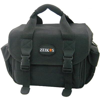 Zeikos ZE-260F Deluxe DSLR Soft Case (Black)