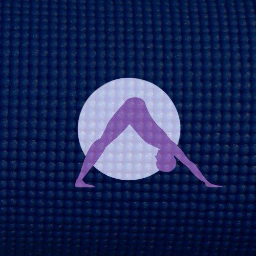 Imagen de Auroras Yoga Esteras - Ultra grueso, extra larga, con icono de punto focal y colores de luz. SGS aprobado Libre de ftalatos y látex. Todos los productos garantizada. Medianoche, medianoche color