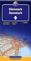 Carte routière et touristique : Danemark