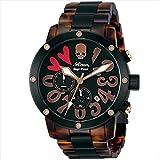 (エンジェルクローバー) ANGEL CLOVER 時計 メンズ ES43ROZZ ロエンコラボレーション 腕時計 ウォッチ ブラウン/ベッコウ柄[並行輸入品]