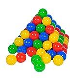 Knorrtoys 56789 - Bälleset - 100 bunte Plastikbälle