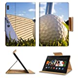 Golf Closeup Club Ball Sport Amazon Kindle Fire HDX 8.9 [2013 Version] Premium Deluxe Pu Leather Flip Case Stand Magnetic Cover Open Ports Customized Made to Order Support Ready 9 13/16 Inch (250mm) X 6 7/8 Inch (175mm) X 11/16 Inch (17mm) Luxlady Professional Kindle_fire Cases Kindle8.9 Accessories Build Model Graphic Background Covers Designed Model Folio Sleeve HD Template Designed Wallpaper Photo Jacket Luxury Protector