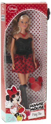 Simba Simba Steffi Love Minie Mouse Chic Party Skirt, Black-Red (Multicolor)