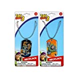 12-Pack Disney Pixar Toy Story Dog Tag Charm Necklaces