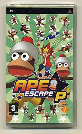 APE ESCAPE P PSP Nordic Covers English Game