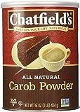 Chatfields 100% Carob Powder, Unsweetened, 16 oz