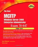 echange, troc Anthony Piltzecker - The Real MCTS/MCITP Exam 70-647 Prep Kit: Independent and Complete Self-paced Solutions