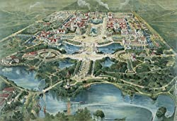 Aerial View of the Pan-American Exposition in Buffalo, 1901 - 16x20-inch - Fine-Art-Quality Photographic Print of an Image from the Library of Congress Collection