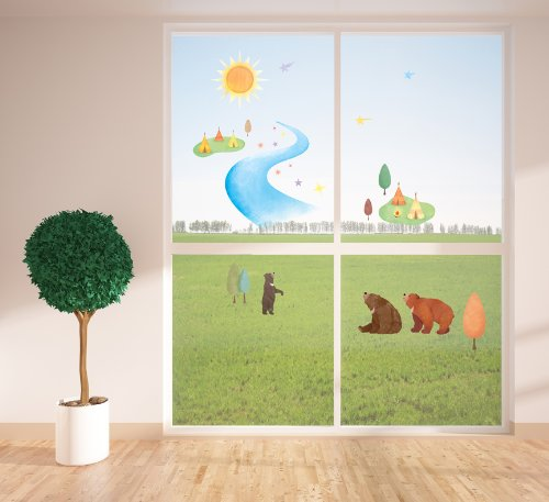 bears-and-the-galaxy-milky-way-wall-stickers-glow-in-the-dark-visible-both-sides-dk-20021