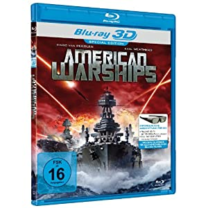American Warships 3d [Blu-ray] [Import allemand]
