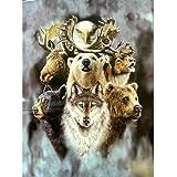 Alaskas Wildlife Queen Korean Mink Blanket