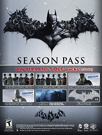 Batman Arkham Origins Season Pass [Online Game Code]