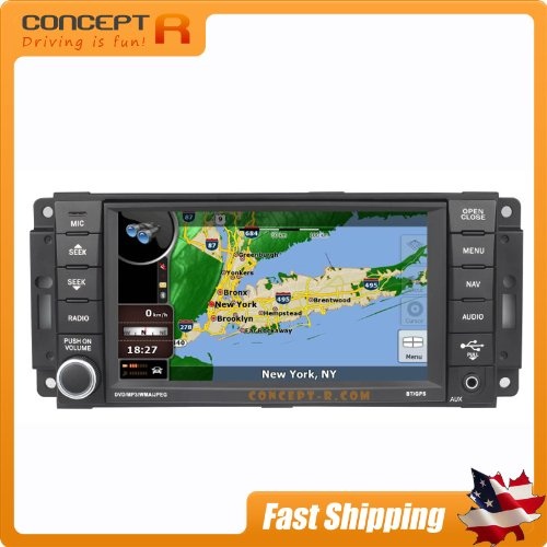 2008-2013 Jeep Grand Cherokee 2007-2014 Jeep Wrangler 2008-2010 Jeep Commander In-Dash Dvd Gps Navigation Stereo Bluetooth Hands-Free Steering Wheel Controls Touch Screen Oem Mopar Mygig Replacement Deck Av Receiver Cd Player Video Audio Astrium Rear View