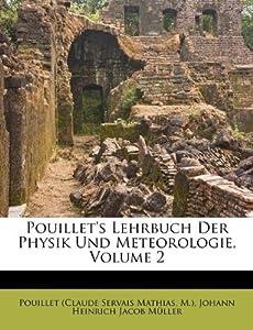 Makeup Artist Supplies on Pouillet S Lehrbuch Der Physik Und Meteorologie  Volume 2  German
