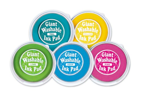 Giant Washable Color Ink Pads Set 2