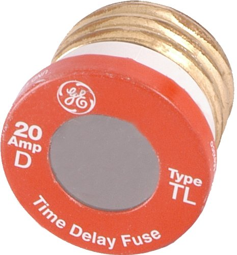 Ge Type T/Tl Time Delay Fuse, 20-Amp, 2-Pack 18251 front-554994