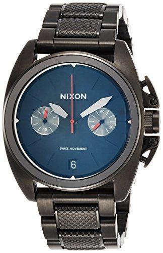 [ニクソン]NIXON ANTHEM CHRONO: ALL BLACK NA930001-00 メンズ 【正規輸入品】
