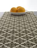 "Natural Color Table Runner, Beige Table Runner 120 inch long 120"" long - Rustica Mocha"