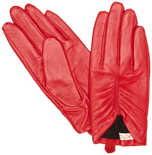 Echo Ruched Driver Women's Gloves Red Small
