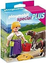 Comprar Playmobil Especiales Plus - Granjera con terneros (4778)