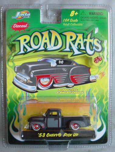 Road Rats 1:64 '53 Chevy Pick Up BLACK
