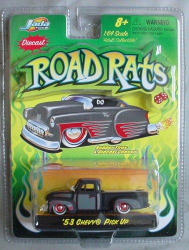 Road Rats 1:64 '53 Chevy Pick Up BLACK
