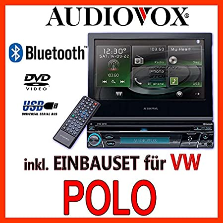 VW polo 6N 6N2-&multimédia audiovox vxe 3010-1DIN kit de montage d'autoradio
