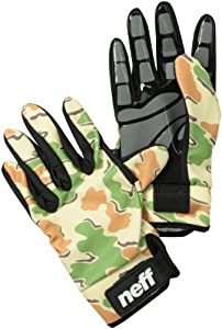 Neff Men's Chameleon Gloves - Camo, Small