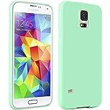 Galaxy S5 H�lle, Bestwe TPU Schutzh�lle H�lle f�r Samsung Galaxy S5 TPU Case (T�rkis-gr�n)