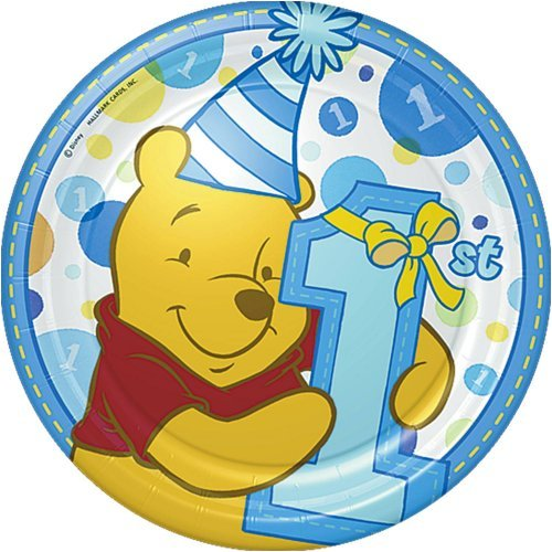 Winnie the pooh boys first birthday party supplies for 1st birthday party decoration for boys