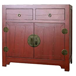 Asian Cabinet - Red