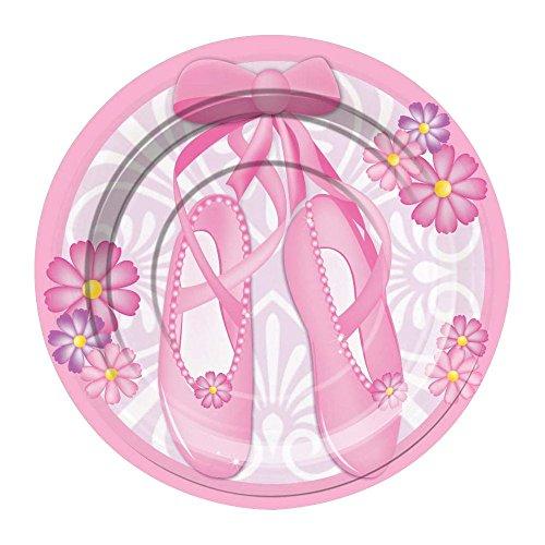 Ballerina Cake Plates (8 Pack)