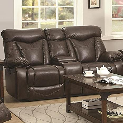 Zimmerman Collection Power Glider Loveseat with Console