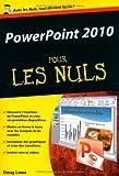 echange, troc Doug LOWE - PowerPoint 2010 - Poche Pour les Nuls