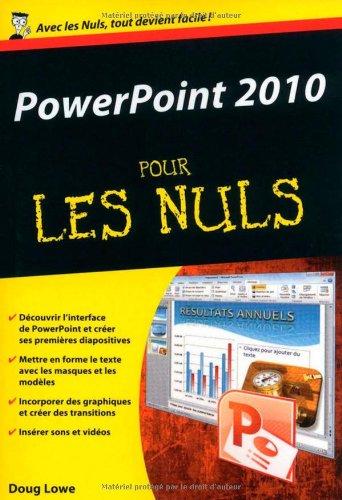 PowerPoint 2010 - Poche Pour les Nuls