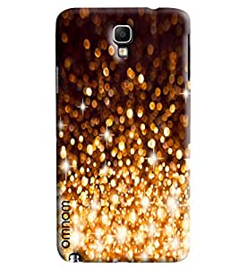 Omnam Crystal Fire Works Galaxy Look Cover For Samsung Galaxy Note 3 Neo