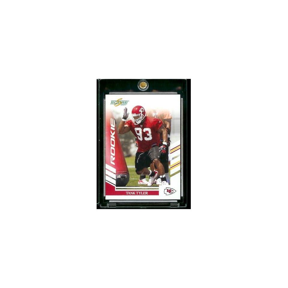 2007 Score # 303 Tank Tyler   Kansas City Chiefs   NFL