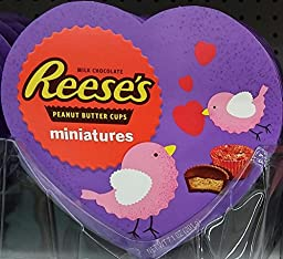 Hershey\'s Reese\'s Miniatures Valentine Heart, 7.1 oz