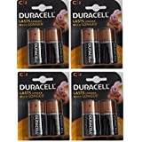 Duracell Alkaline Battery C2 Pack Of 4 (8 Cell)