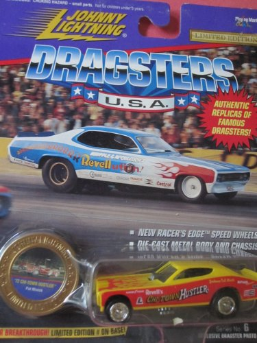 Johnny Lightning Famous Dragsters 72 Chi-town Hustler Pat Minick Limited Edition - 1