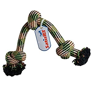 """Pet Supplies : SatisPet Dog Toys 31"""" Durable Rope Tug for"""