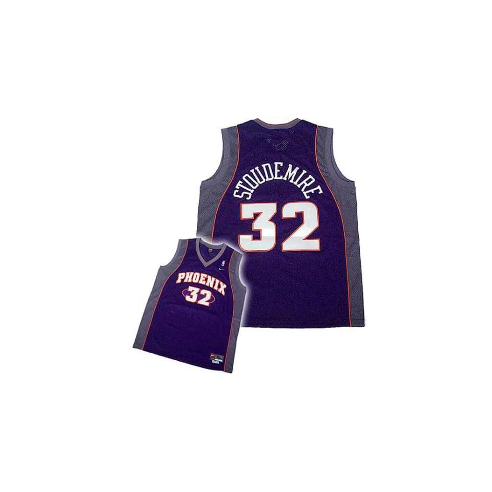 8b9f279ebd7 Nike Phoenix Suns  32 Amare Stoudemire Purple Swingman Jersey on ...
