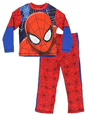 Spiderman pyjama | Garcon Spider-man Ensemble de Pyjama | 2-3 ans
