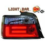 in.pro. 1213798 HD R�ckleuchten Lichtbar BMW 3-er E36 90-97 nur Limousine, rot - schwarz