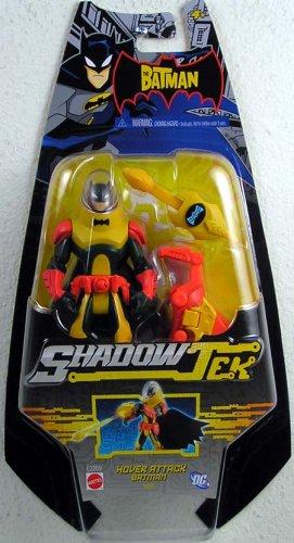 The Batman Shadow Tek Hover Attack Batman in Black/Orange - 1