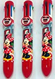 pluma Disney Minnie Mouse Multi-Color X 3