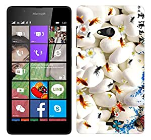 WOW Printed Designer Mobile Case Back Cover For Nokia Lumia 540