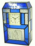 Duke Blue Devils Stained Glass Clock