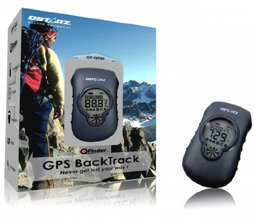 Qstarz GF-Q900 GPS BackTrack with Digital Compass for Hiking, Camping, Fishing, Kayaking etc.